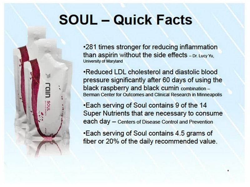 rain soul quick facts